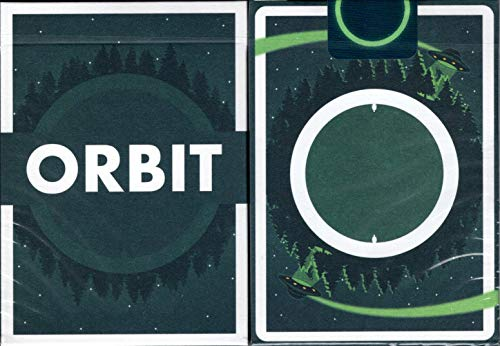 Orbit V6 Spielkarten Poker-Größe Deck USPCC Custom Limited Edition