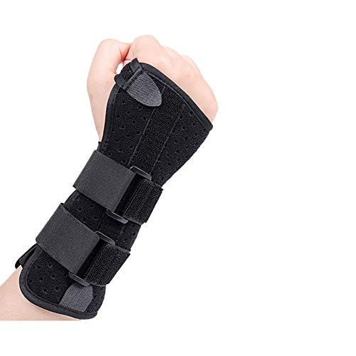 FRWANG Fortgeschritten Handgelenkschiene Handgelenkbandage Lindert Handgelenkschmerz vom Karpaltunnel Zerrungen Sehnenscheidenentzündung und Arthritis,Rechts,Groß(19~21 cm)