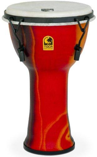 """TOCA SFDMX-9F 9"""" Fiesta Red ジャンベ"""