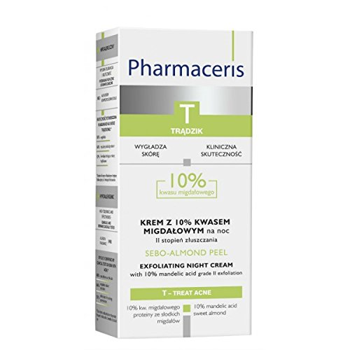 PHARMCERIS T - Sebo-Almond Peel Exfoliating Night Cream 10% (50 ml)