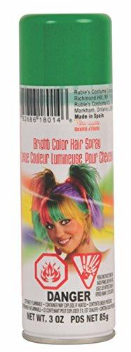 Lacca spray per capelli colore verde