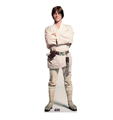 Advanced Graphics Luke Skywalker Life Size Cardboard Cutout Standup - Star Wars Classics (IV - VI)