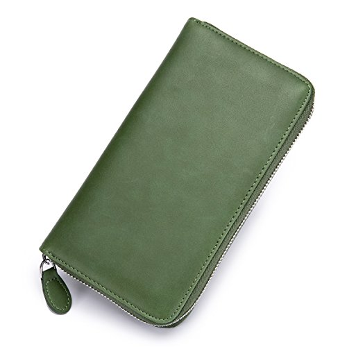 [imeetu]カードケース 長財布 お札入れ スマフォン パスポート 72枚収納 大容量 本革 スキミング防止 メンズ レディース