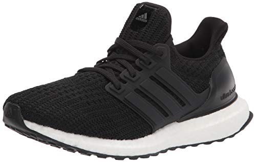 adidas Men's Ultraboost DNA Running Shoe, Black/Black/White, 9