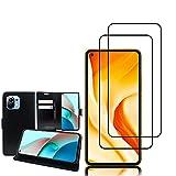 annaPrime Étui et Verre trempé Écran pour Xiaomi Mi 11 Lite/Mi 11 Lite 5G 6.55', Etui...