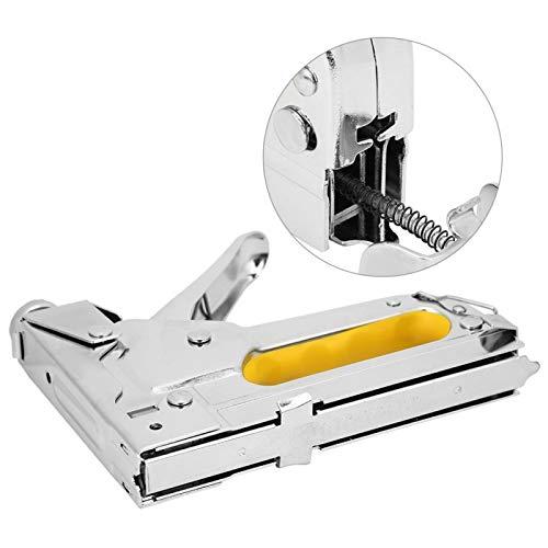 Polsterhefter Nagelpistole Handbuch Brad Nailer Power Adjustment Hefterpistole, Polsterhefter Hefter für Polsterung, Reparatur, Dekoration