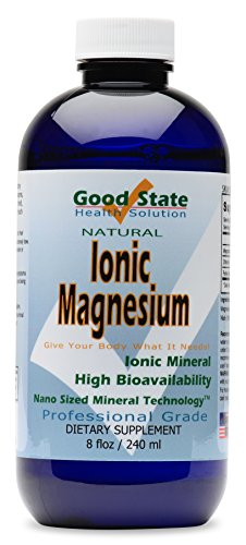 Good State | Liquid Ionic Magnesium | Dietary Supplement | Great for Digestive System | 96 Servings | 8 Fl oz Bottle