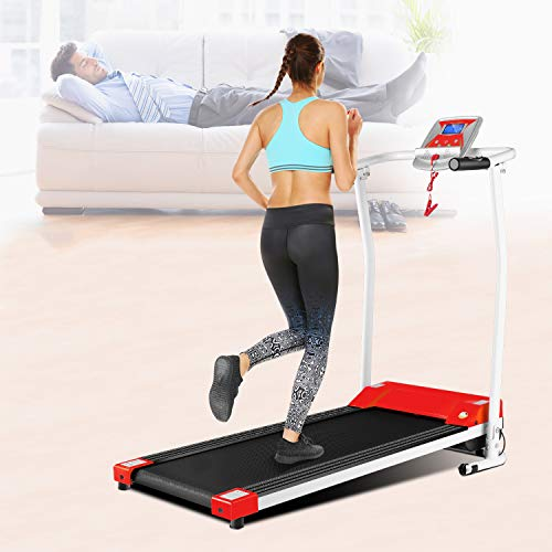 Cheapest Price! OppsDecor Folding Treadmill for Home, Electric Treadmills with LCD Display Exercise ...