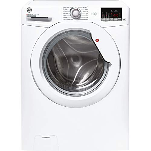 Hoover H-Wash 300 H3W4102DE Free Standing Washing Machine, Large Capacity, 10 kg Load, 1400 rpm, White