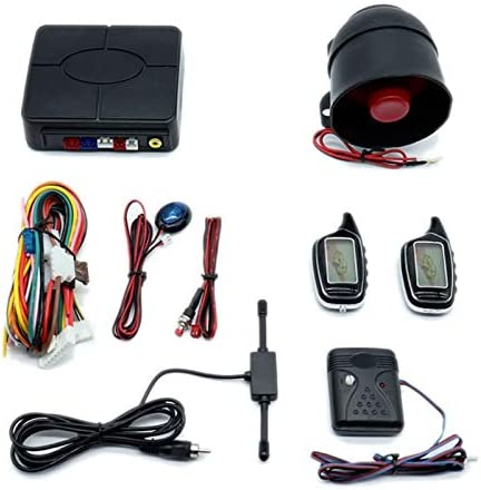 YIWMHE Universal Two-Way Car Anti-Theft 55% OFF Alarm Tampa Mall Control Remote Cen