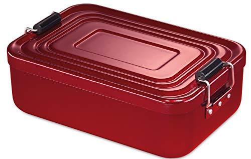 Küchenprofi Lunchbox, Metall, Rot,