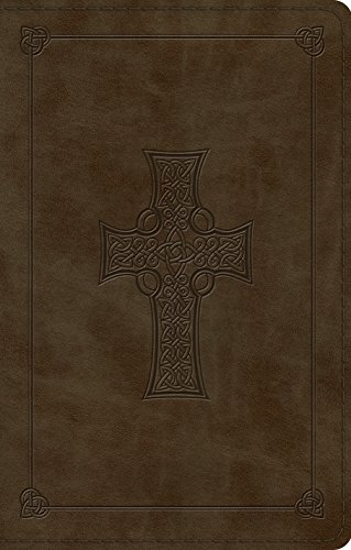 ESV Premium Gift Bible (TruTone, Olive, Celtic Cross Design)