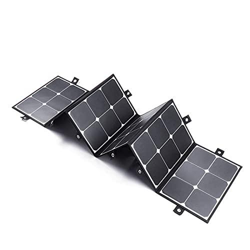BNMV Los Paneles solares, los Paneles solares portátiles de 120W 20V, los Bancos de Potencia Plegables Son adecuados para Exteriores, campamentos, RV, Viajes, computadora