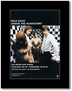 Music Ad World RILO KILEY - Under The Blacklight Mini Poster - 28.5x21cm