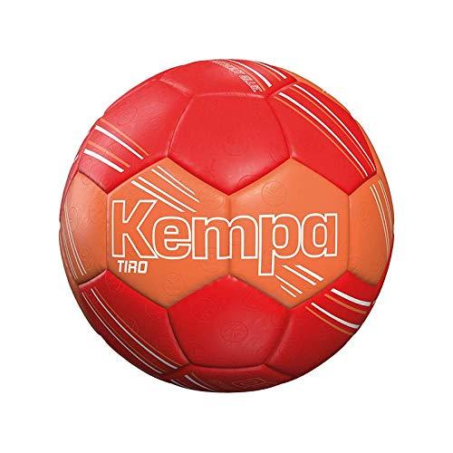 Kempa Unisex– Erwachsene Tiro Handball, rot/Shock rot, 00