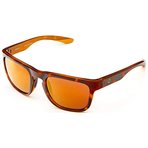 Briko Herren Gregale Mirror Color HD Brille, 906 SH Havana GLD-KGOM3, One