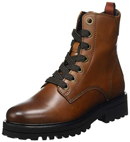 Marc O\'Polo Damen 00815966301152 Oxford-Stiefel, 720 Cognac, 40 EU