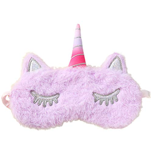ZOYLINK Plüsch Schlafmaske Eyeshade Mask Cute Cartoon Weiche Schlafmaske Für Büro