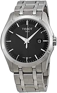ساعة تيسوت رسمية للرجال انالوج بعقارب ستانلس ستيل - T035.410.11.051.00