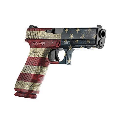 GunSkins Pistol Skin  Premium Vinyl Gun Wrap with Precut Pieces  Easy to Install and Fits Any Handgun  100% Waterproof NonReflective Matte Finish  Made in USA  GS America