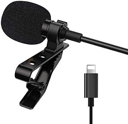 Omnidirectional Microphone For iPhone iPad iPod Mini Professional Grade Lavalier Lapel Mic Speaker product image