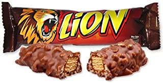 Nestle Lion Bars 50g - Case of 36 (Bulk Buy) British