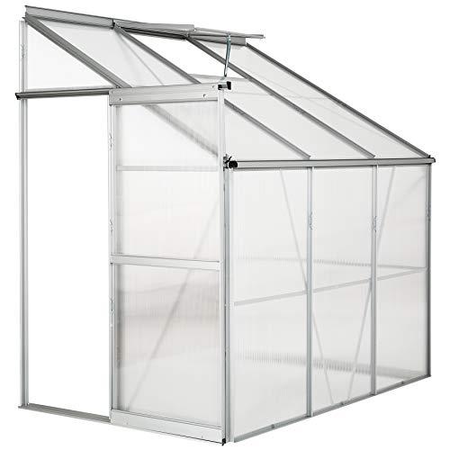 TecTake Lean-to Greenhouse 6 x 4ft