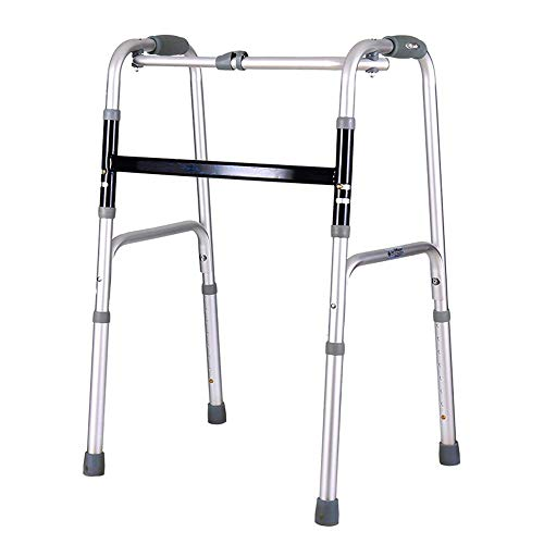 CENPEN Old And Disabled People Foldable Dual-purpose Walker Four-legged Cane Thick Aluminum Walker Non-slip Walking Stick With Hospital