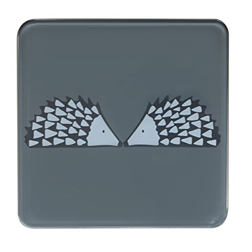 Scion Living Topf-Untersetzer, Motiv Igel, Grau