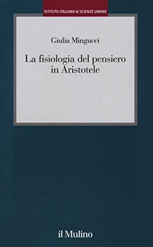 La fisiologia del pensiero in Aristotele
