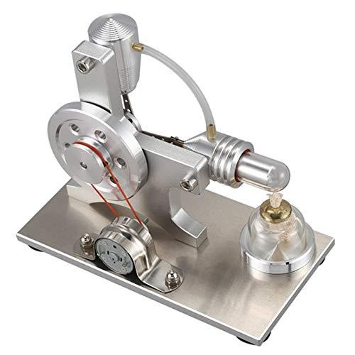 Basage Modelo de Motor Stirling de Aire Caliente Motor Generador EléCtrico Experimento de FíSica Educativa EnergíA de DiseeO de Juguete Regalos