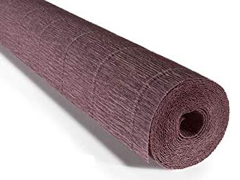 Floristrywarehouse Crepe Paper Roll 180g  20 Inches Wide x 8ft Long  Mocha Brown  Shade 614