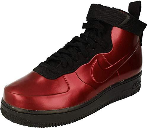 Nike Herren Air Force 1 Foamposite Cup Fitnessschuhe, Mehrfarbig (Team Red/Team Red-bl 600), 43 EU