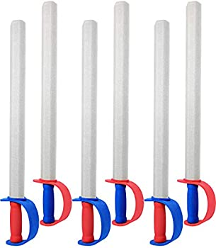 Click N  Play Giant Toy Foam Swords for Kids 27  Parties & Pretend Play - Set of 6