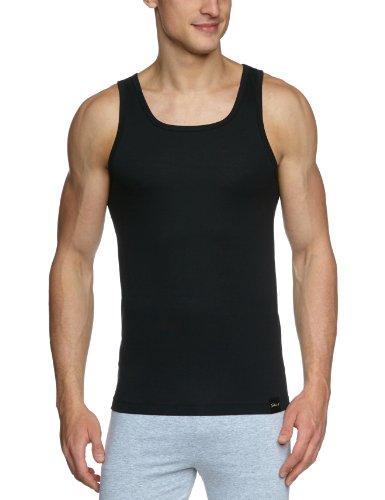Skiny Herren Unterhemd 6762 / Option Polyamid Hr. Tank Top, Schwarz (Black 7665), Large