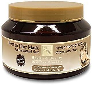 H&B Health and Beauty Dead Sea Minerals - Keratin Hair