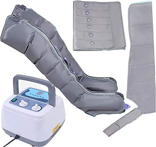 WANGPP Máquina de Masaje de compresión de Aire de Masaje de piernas para masajes de circulación de pantorrillas y pie 3.30 (Color : 1 Bump × 1 Waist)