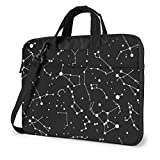 Starry Adivination Constellation Laptop Bag Maletín Bolso Mesenger de Hombro