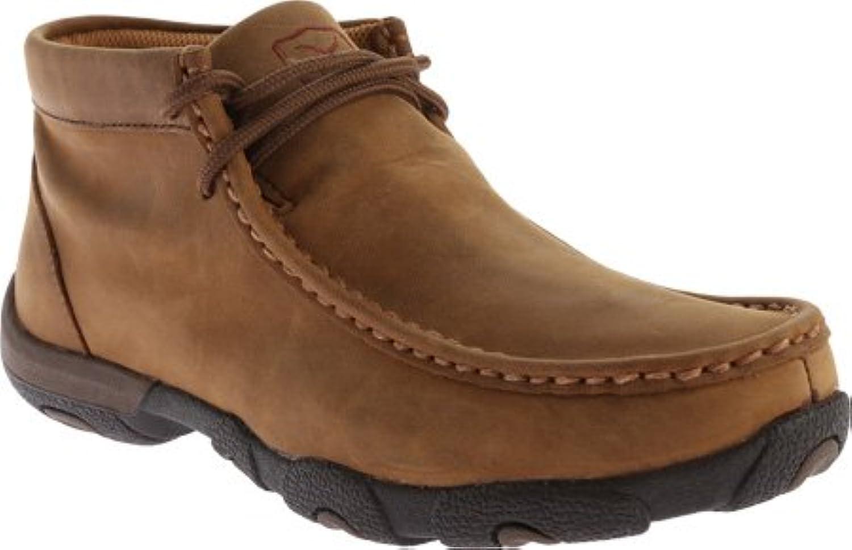 wdmw001?Twisted X Women 's Driving Moccasinカジュアル靴?–?Distressed Saddle?–?7.5?–?M