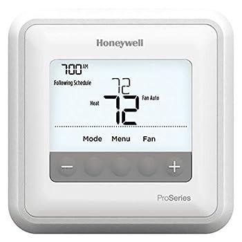 Honeywell TH4110U2005/U T4 Pro Program Mable Thermostat White