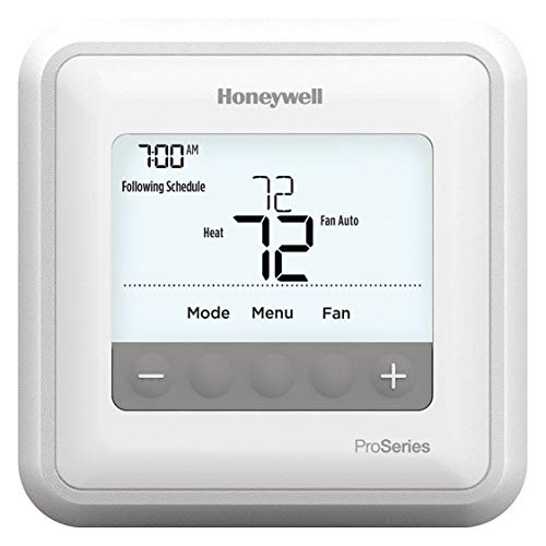 Honeywell TH4110U2005/U T4 Pro Program Mable Thermostat, White