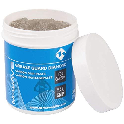 M Wave Grease Guard Diamond Pasta de Montaje de Carbono, Adultos Unisex, Transparente