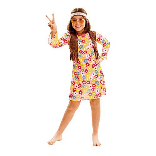 My Other Me Me Me- Hippie Around S.XX Disfraz, Multicolor, 5 à 6 ANS (202551)