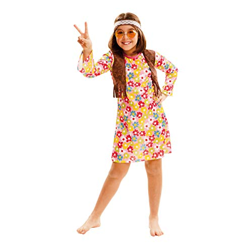 My Other Me Me Me- Hippie Around S.XX Disfraz Multicolor, 10-12 YRS 202553