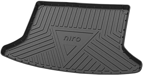 ZYLFP Boot Trunk Mats For Kia NIRO 2016 2017 2018 2019 2020, Rubber Non-Slip Dust-Proof Floor Mats Car Accessories
