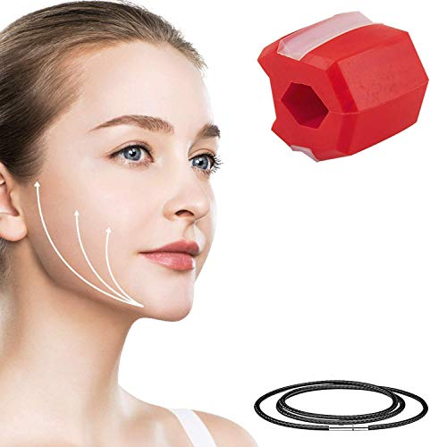 Jawline Trainer,Jaw Exerciser,Jawline Shaper Face Slimmer, Double Chin Exerciser Ball,Jawline Übung Fitness Ball, Doppelkinn-Übungsgerät, Exerciser und Neck Toning