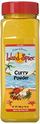 Island Spice Curry Powder, Jamaican, 24 oz.