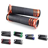 Puños compatibles con Aprilia RX 125, SX125, RX50, SX 50 Factory, Sonic (22/naranja)