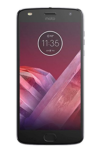 Lenovo Moto Z2 Play Smartphone, Marchio Tim, Mono SIM, 64 GB, Grigio [Italia]