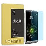 SZEETECH Protector de pantalla de cristal templado para LG G5 alta defintion curvado 3D Full de cobertura de pantalla, Anti Arañazos/burbujas/libre de huellas dactilares 9H para LG G5 negro